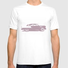 Bel Air Mens Fitted Tee White SMALL