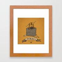 Zincirlikuyu Framed Art Print