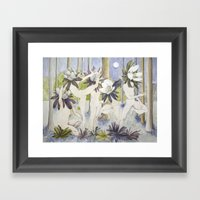 Dance Of The Winter Acon… Framed Art Print