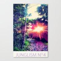 Junglism 4 Canvas Print