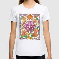 Wild Woman Womens Fitted Tee Ash Grey SMALL