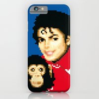 iPhone & iPod Case featuring walkers from the moon by carré offensif