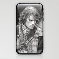 James Fraser iPhone & iPod Skin