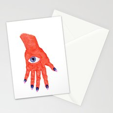 All-Seeing Nails Stationery Cards