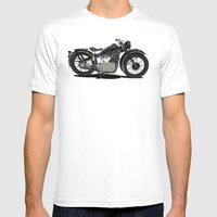 1937 Black Mens Fitted Tee White SMALL