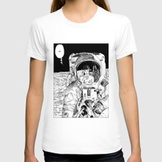 Apollonia Saintclair 333… Womens Fitted Tee White SMALL