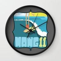 Hang 11 Wall Clock
