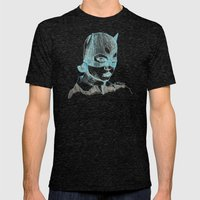 Enid Mens Fitted Tee Tri-Black SMALL