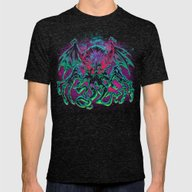 T-shirt featuring COSMIC HORROR CTHULHU by BeastWreck