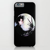 iPhone & iPod Case featuring Edward Scissorhands: The story of an uncommonly gentle man. by Rouble Rust