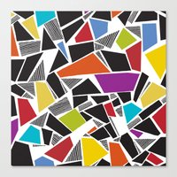 Carnivale Mosaics Canvas Print