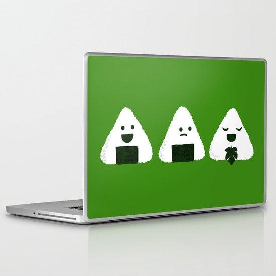 Nude Onigiri Laptop & iPad Skin
