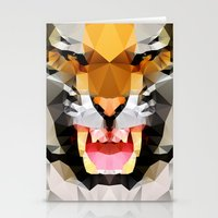 Tiger - Geo Stationery Cards