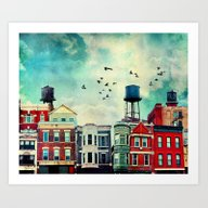 A Noble Avenue Art Print