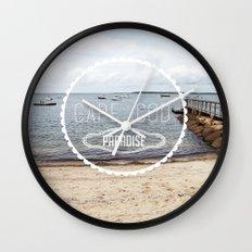 Cape Cod Paradise  Wall Clock