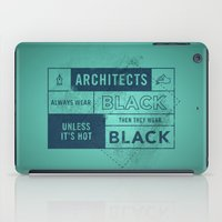 Architects Wear Black iPad Case