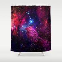Galaxy! Shower Curtain