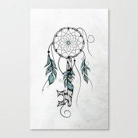 Poetic Key of Dreams Canvas Print