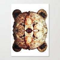 Two-Headed Bear Canvas Print