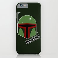 iPhone & iPod Case featuring The FETT! by JEDArts by J. Eric Dunlap