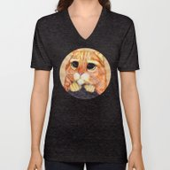 Puss In Boots. Unisex V-Neck