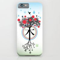iPhone & iPod Case featuring Árbol - 木 - Tree by MaMe Creative Beans