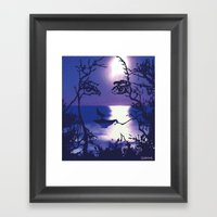 Vesperal Apparition Framed Art Print