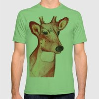 Master Deer Mens Fitted Tee Grass SMALL