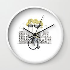 Biking Wall Clock