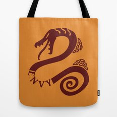 The Serpent's Sin of Envy Tote Bag