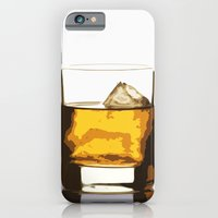 iPhone Cases featuring Old Scotch Whiskey by Franco Nico