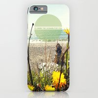iPhone & iPod Case featuring I'd Swim The Oceans For You by lilycious