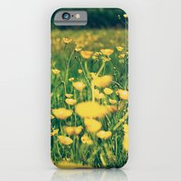 iPhone & iPod Case featuring Field of yellow by Ruben Toxværd