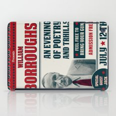 Borroughs Event iPad Case