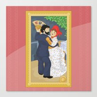 Dance in the country by Renoir Canvas Print