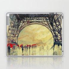 Winter in Paris Laptop & iPad Skin