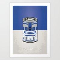 MY STAR WARHOLS R2D2 MIN… Art Print