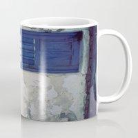 Santorini Door IV Mug