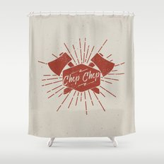 CHOP CHOP Shower Curtain