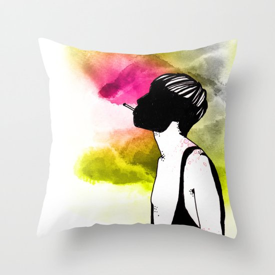 Young Liars 1 Throw Pillow
