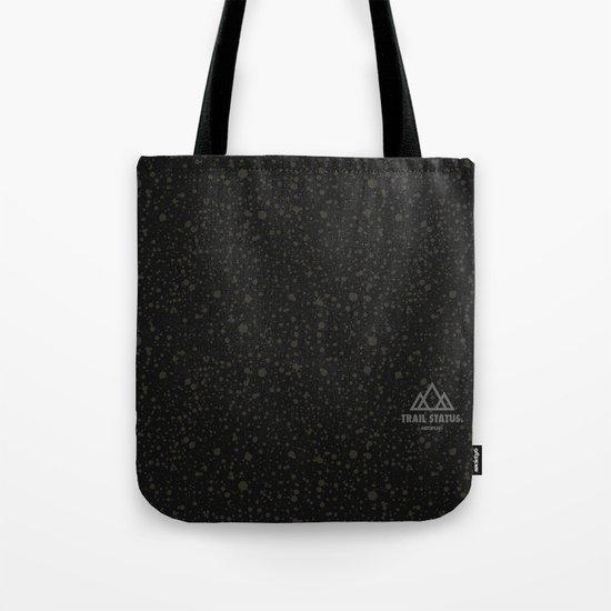 Trail Status / Technical Black Tote Bag