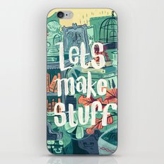 Let's Make Stuff iPhone & iPod Skin