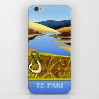 Water Meets Sand: Te Paki Stream iPhone & iPod Skin