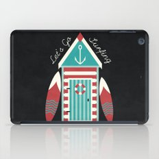 Let's Go Surfing. iPad Case