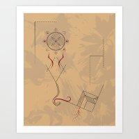 21st Century Hieroglyph Art Print