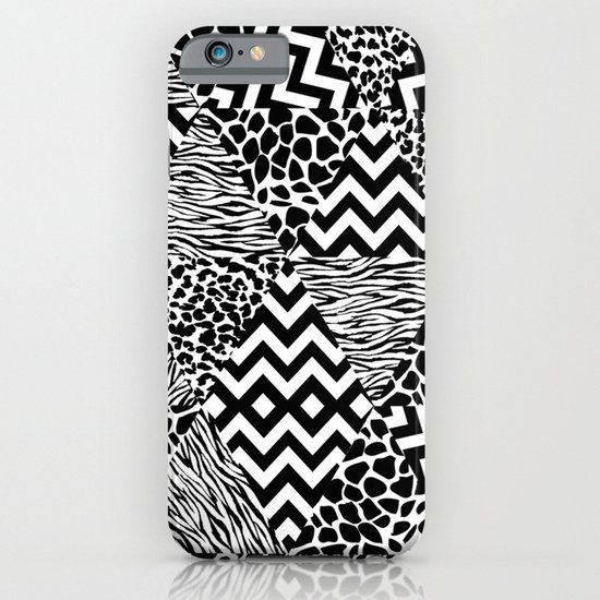 Wild Fashion Monochrome iPhone & iPod Case
