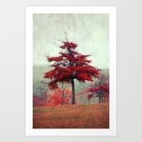 Rosso Art Print