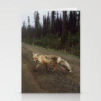 Fox Trot Stationery Cards