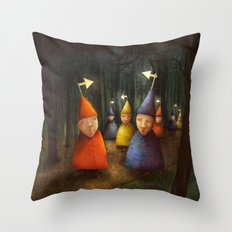 The Lost Brigade Throw Pillow