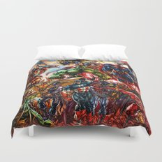 Super hero all Duvet Cover